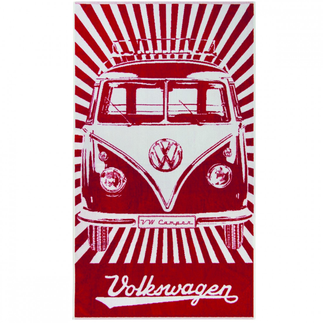 Serviette /à th/é Motif VW Campervan