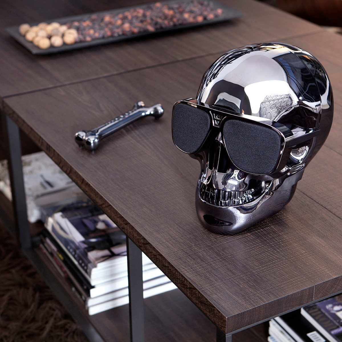 aeroskull enceinte t te de mort. Black Bedroom Furniture Sets. Home Design Ideas