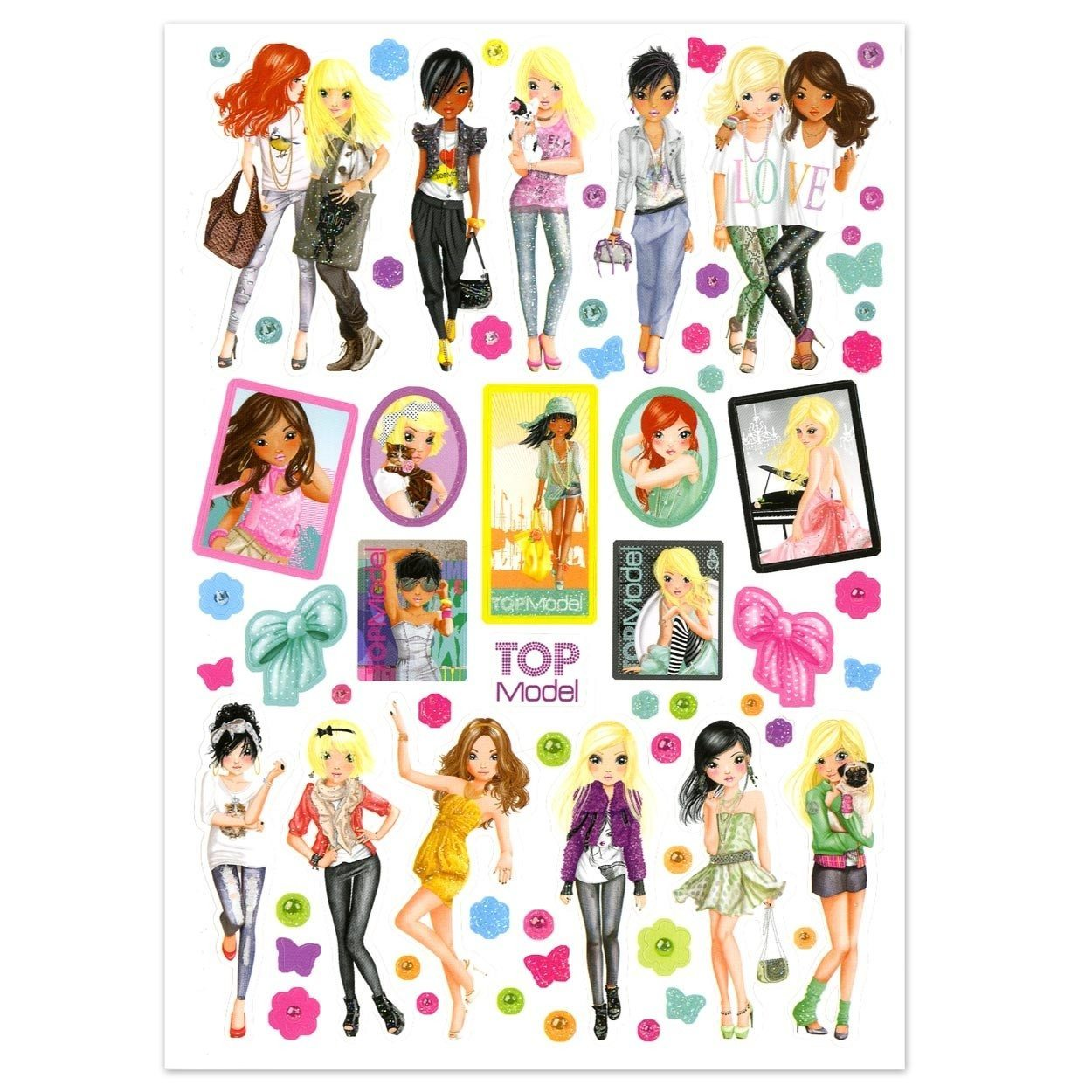Album de stickers - Top Model