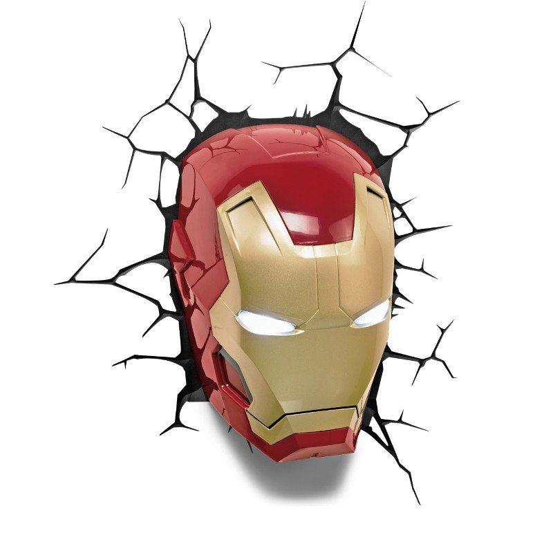 Applique 3D - Iron Man