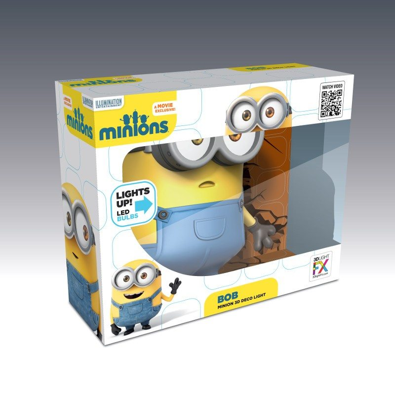 Applique 3D - Minion