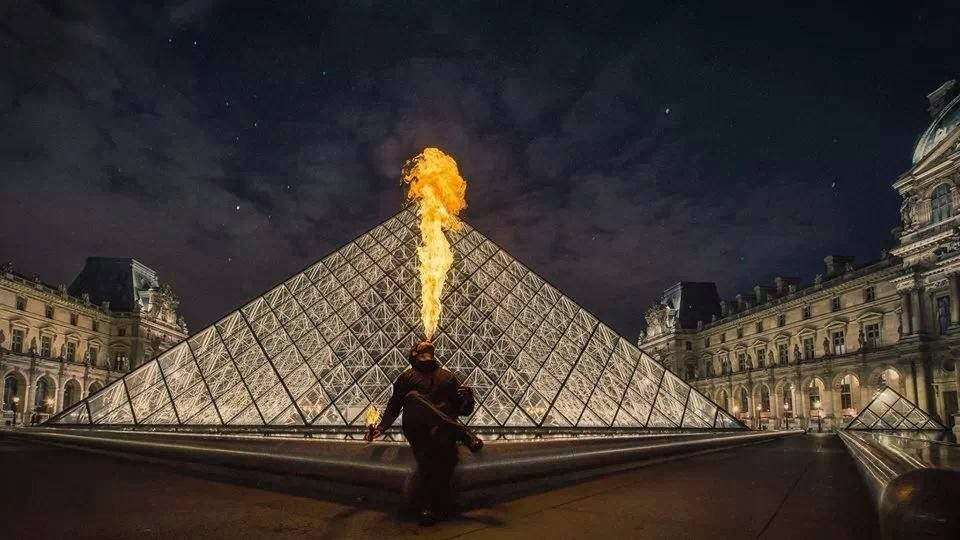 Atelier de fire eating à Paris