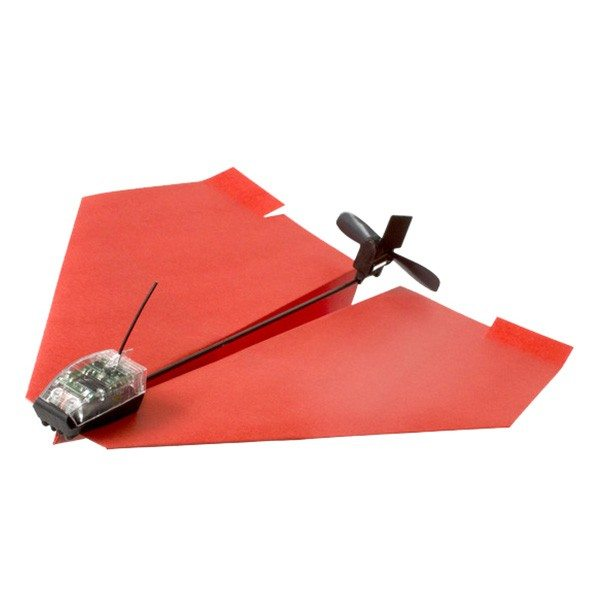Avion en papier dirigeable via Smartphone