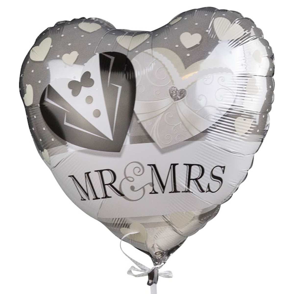 Ballon à hélium - Mr. & Mrs.