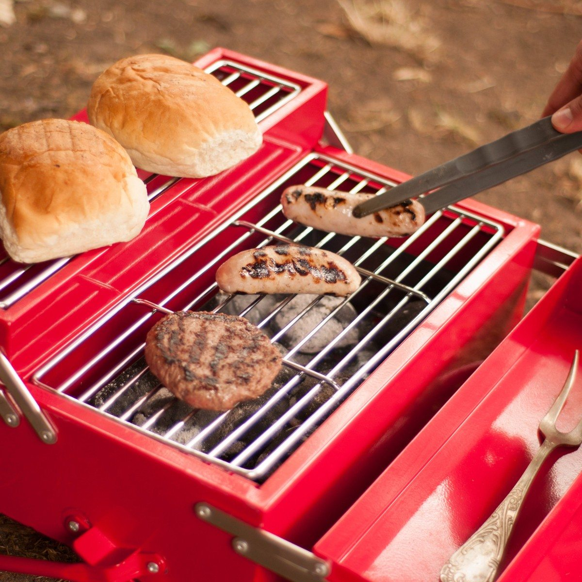 Barbecue Caisse à outils