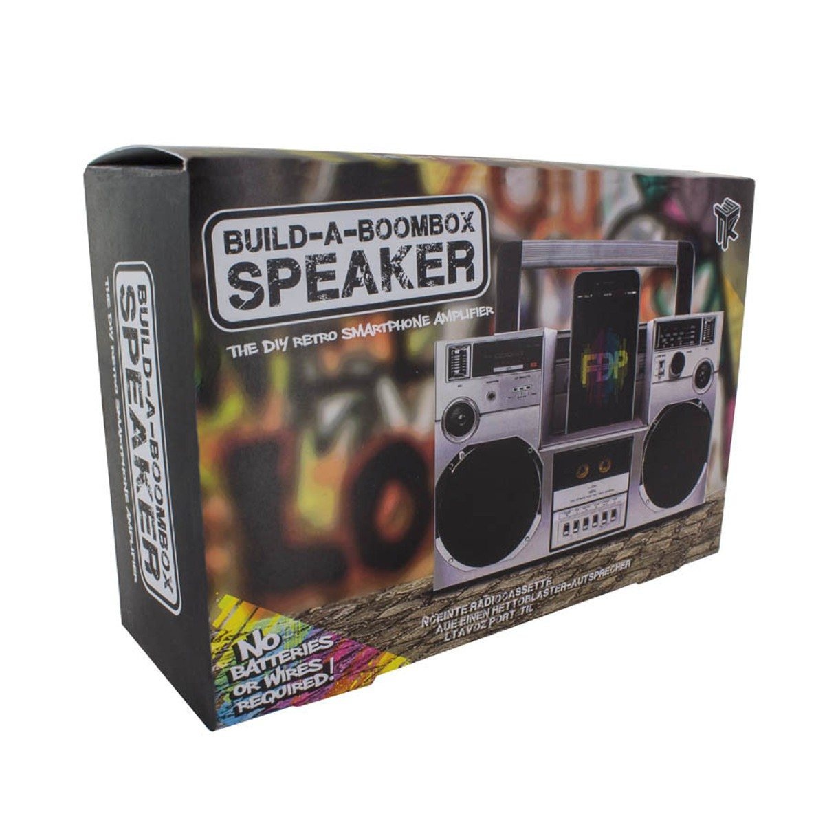 Boombox DIY pour Smartphone