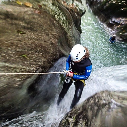 Canyoning Grenoble – demi-journée