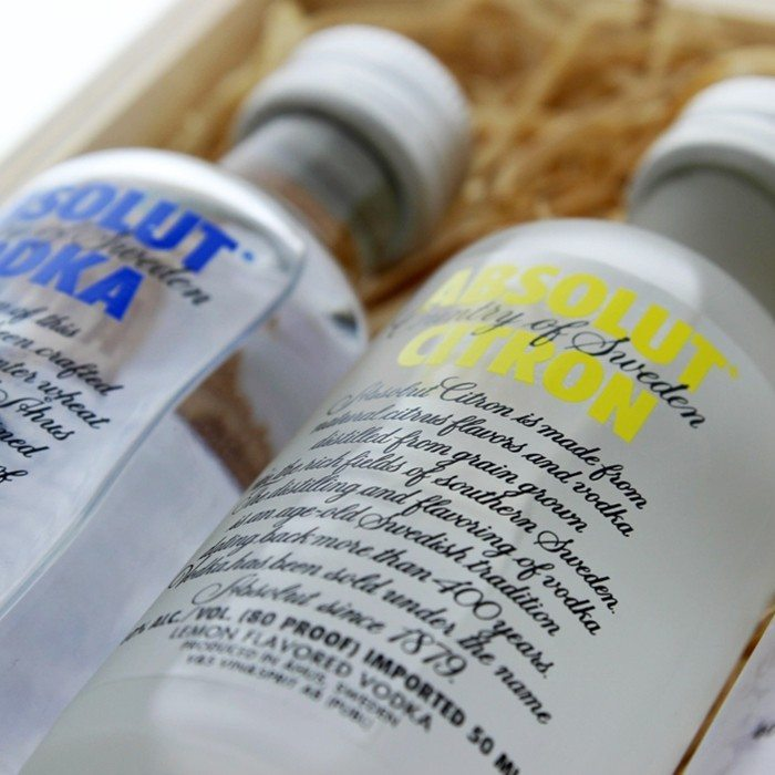Coffret Absolut Vodka