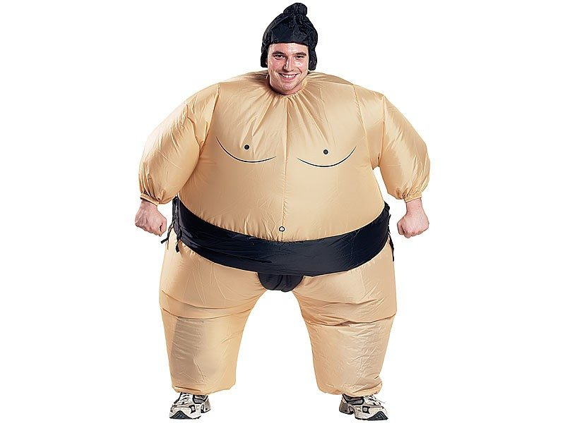 Costume gonflable - Sumo