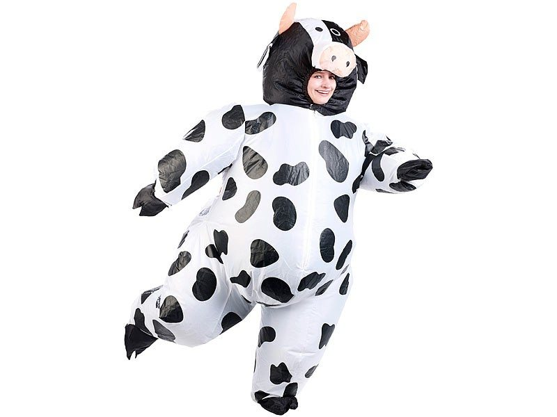 Costume gonflable - vache