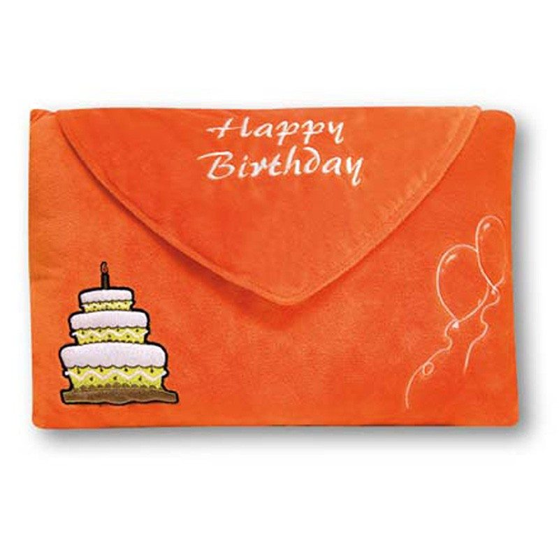 Coussin - Happy birthday - photo