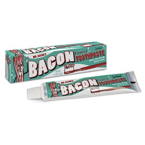Dentifrice au goût bacon