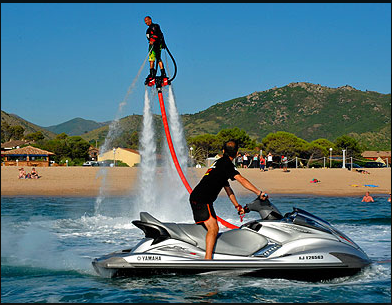 Flyboard près d'Ajaccio