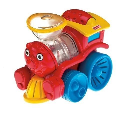 La locomotive et le camion-benne de Fisher Price