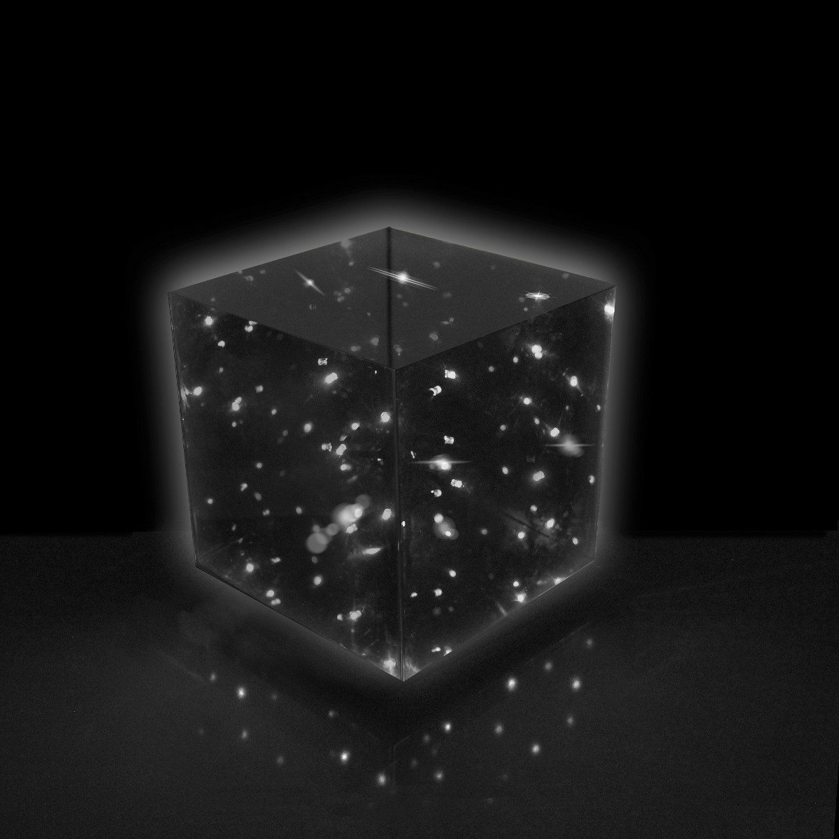 Lampe cube Infinity