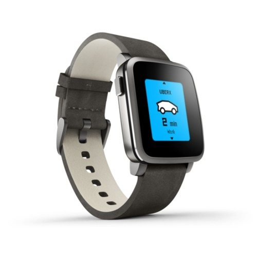 Pebble Time Steel Smartwatch