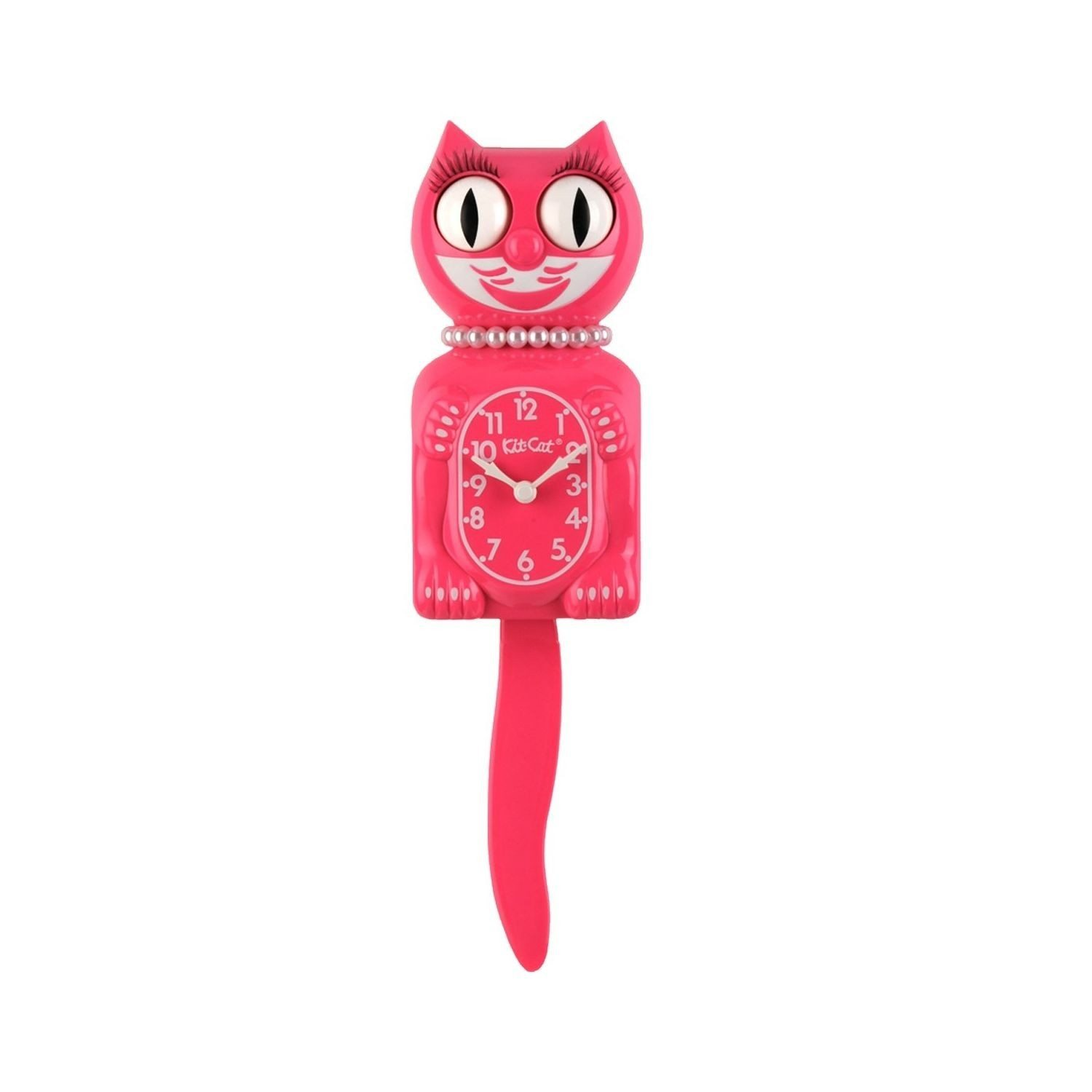 Pendule chat Kit Cat Clock rose