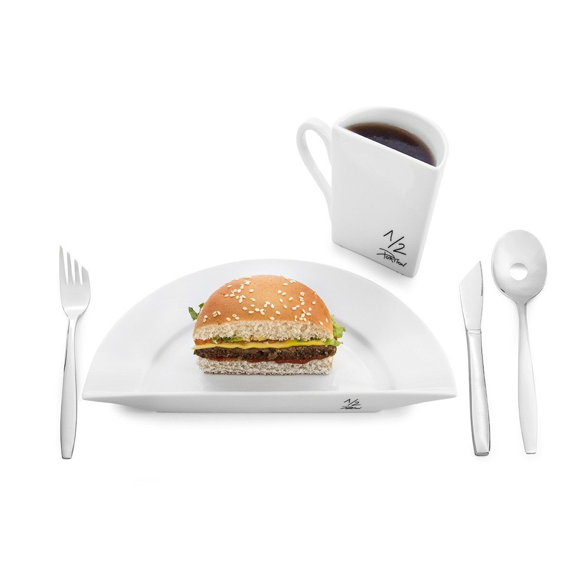 ½ Portion - assiette ou tasse