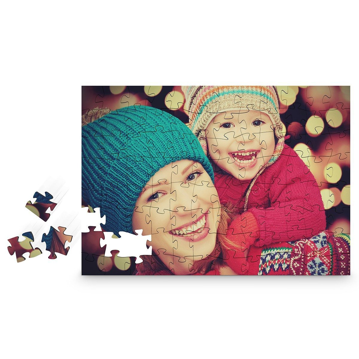 Puzzle en bois - impression photo (96 pcs)