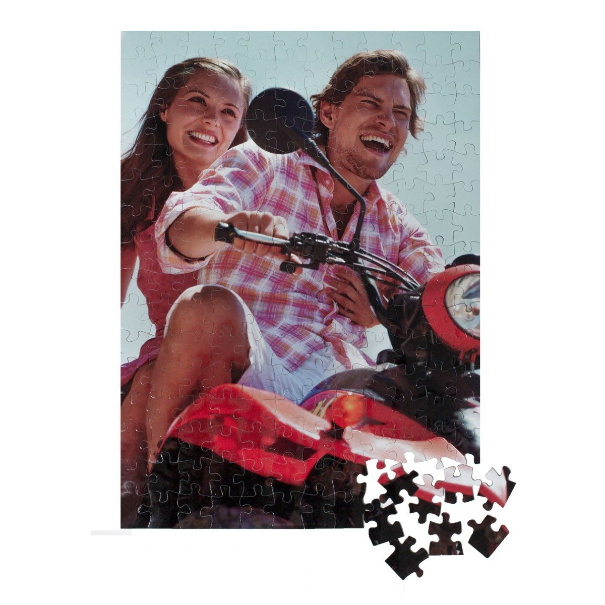 Puzzle magnétique - impression photo (192 pcs)