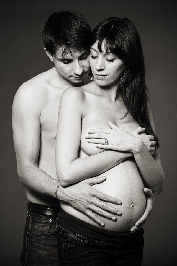 Shooting photo femme enceinte à Saint-Étienne