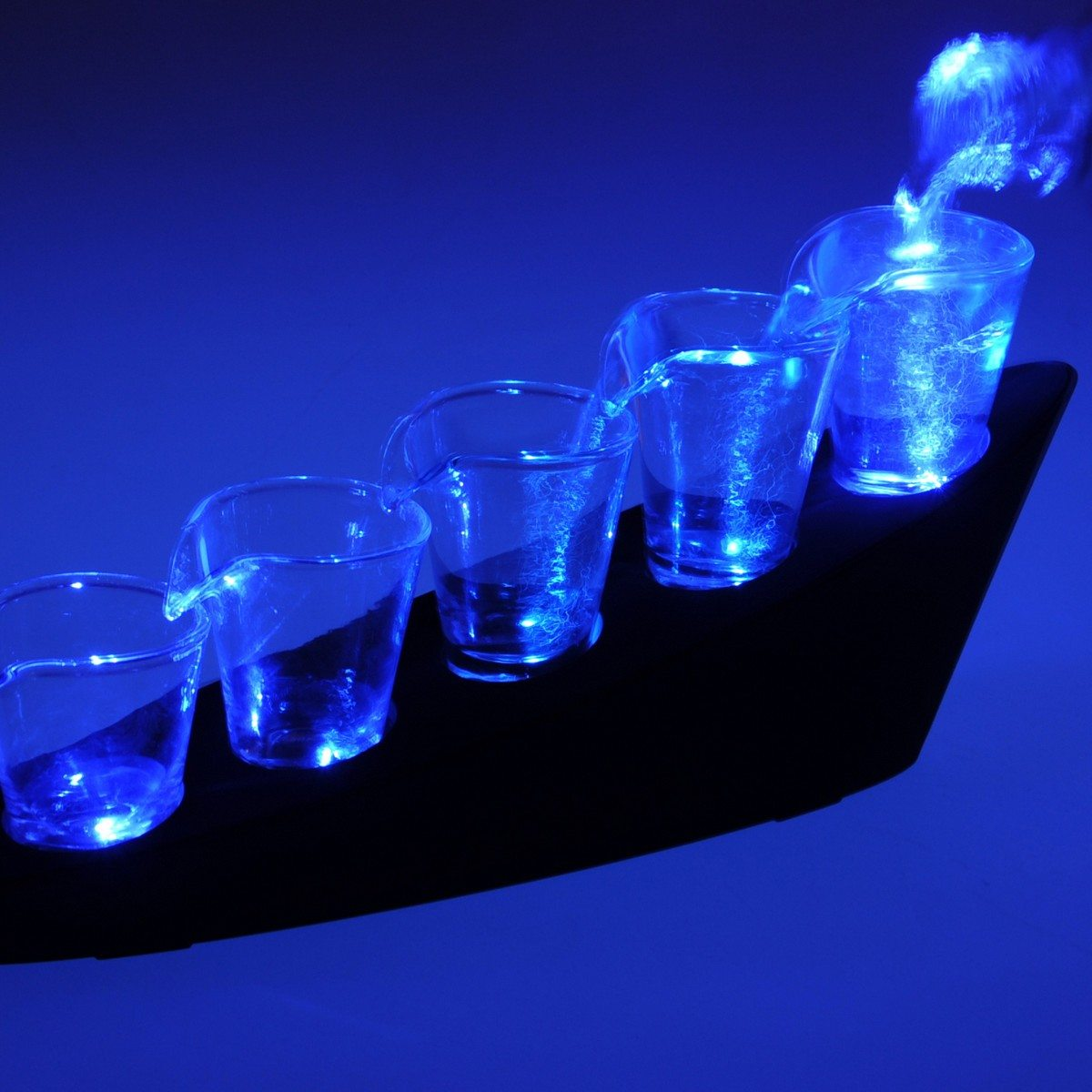 Shots Domino - Set de 5 verres