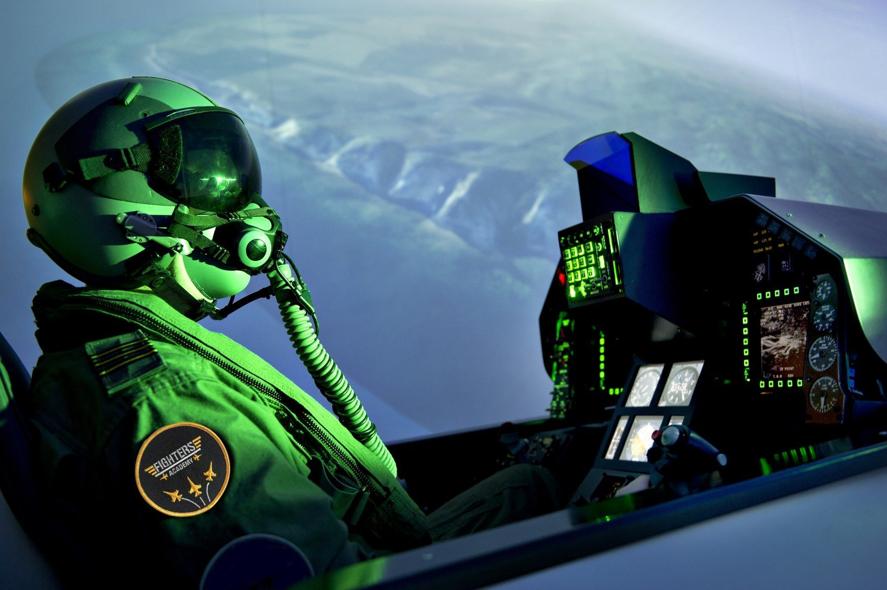 Simulateur d'avion de chasse – Pack Top Gun 6 per. à Bordeaux