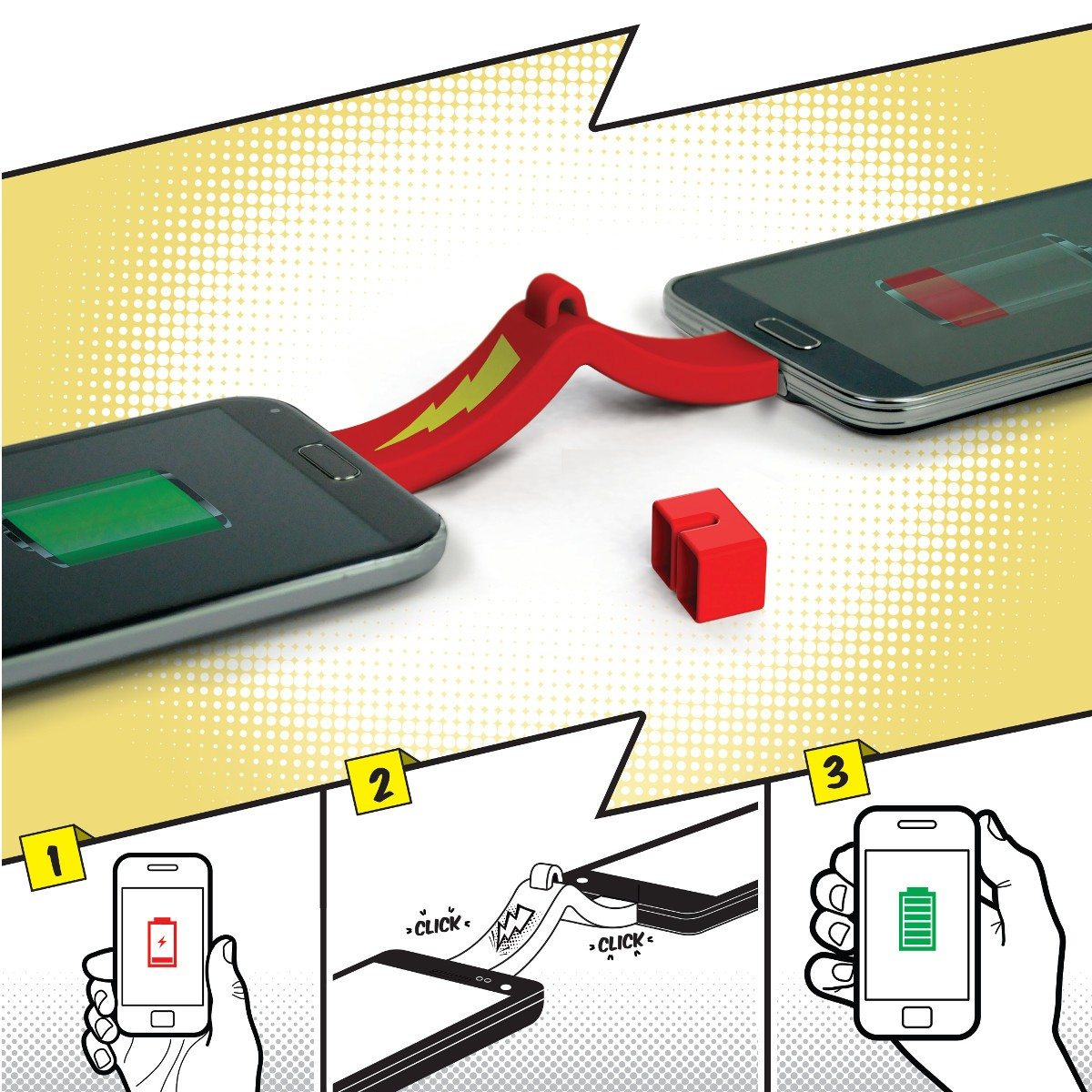 Smartphone to Smartphone - Mini-chargeur