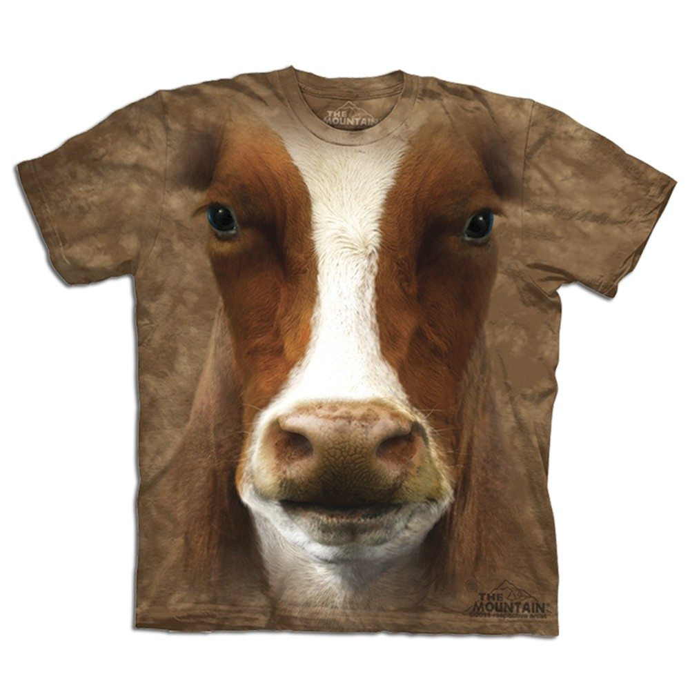 T-shirt Gros plan Animal - Vache