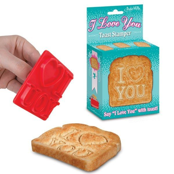 Tampon pour toast - I love you