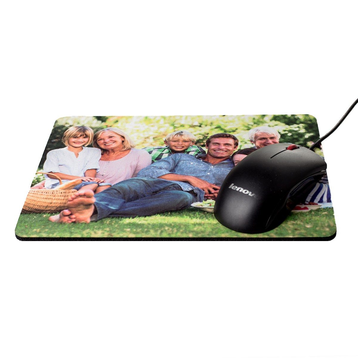 Tapis de souris rectangle - photo personnalisée