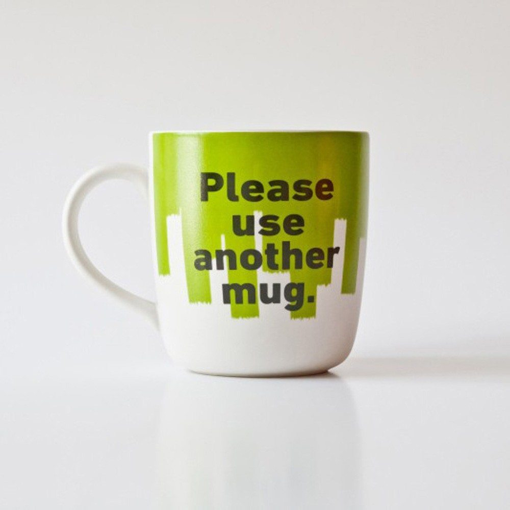 Tasse Mr P : Please use another Mug.