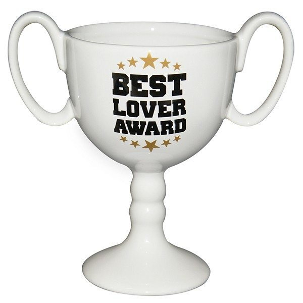 Tasse-trophée Best Lover Award