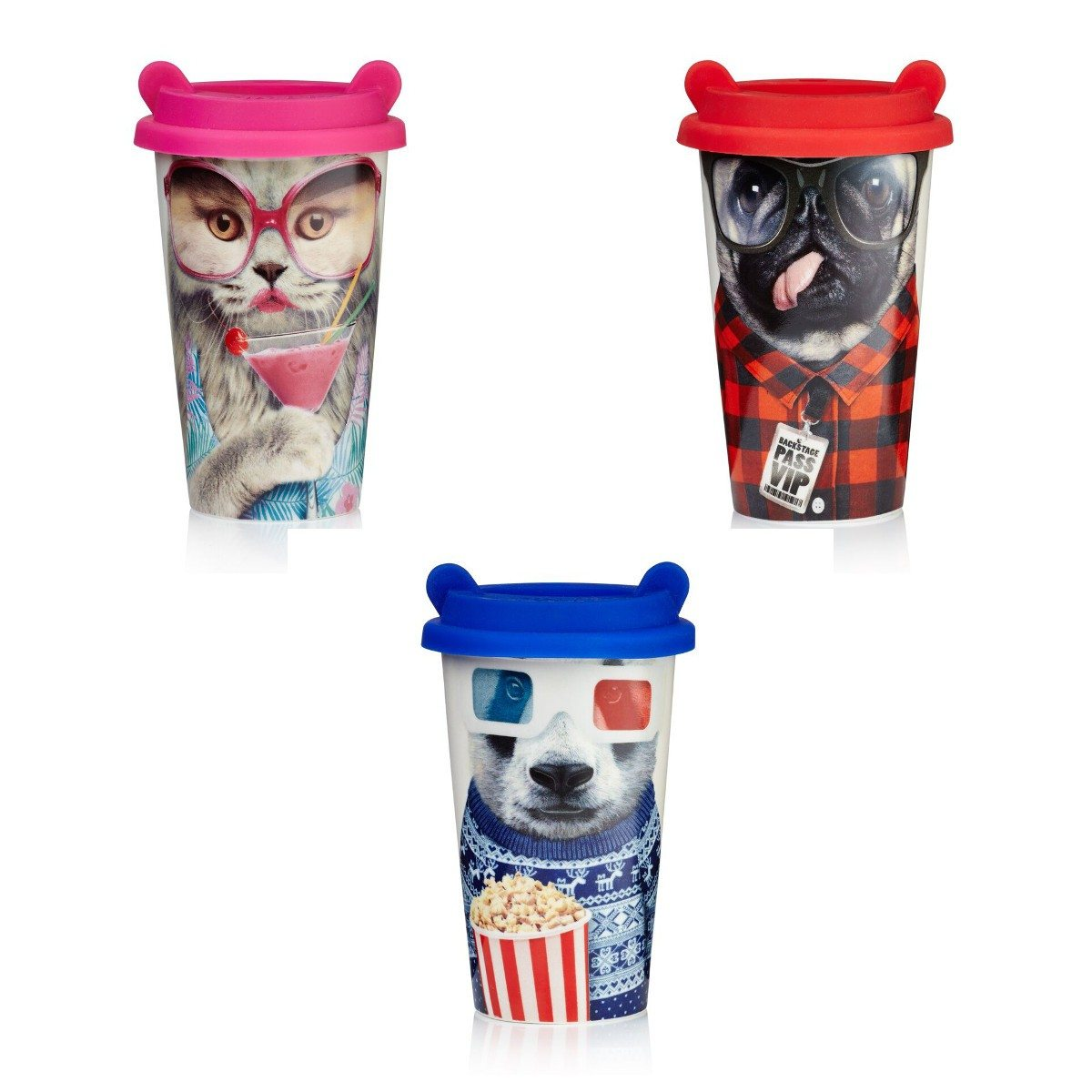 Thermos animal stylisé