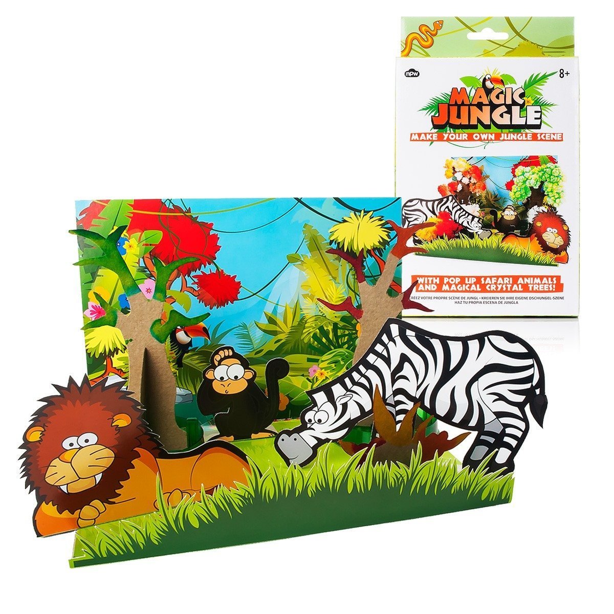 Une jungle pour chez soi- assortiment Pop-Up