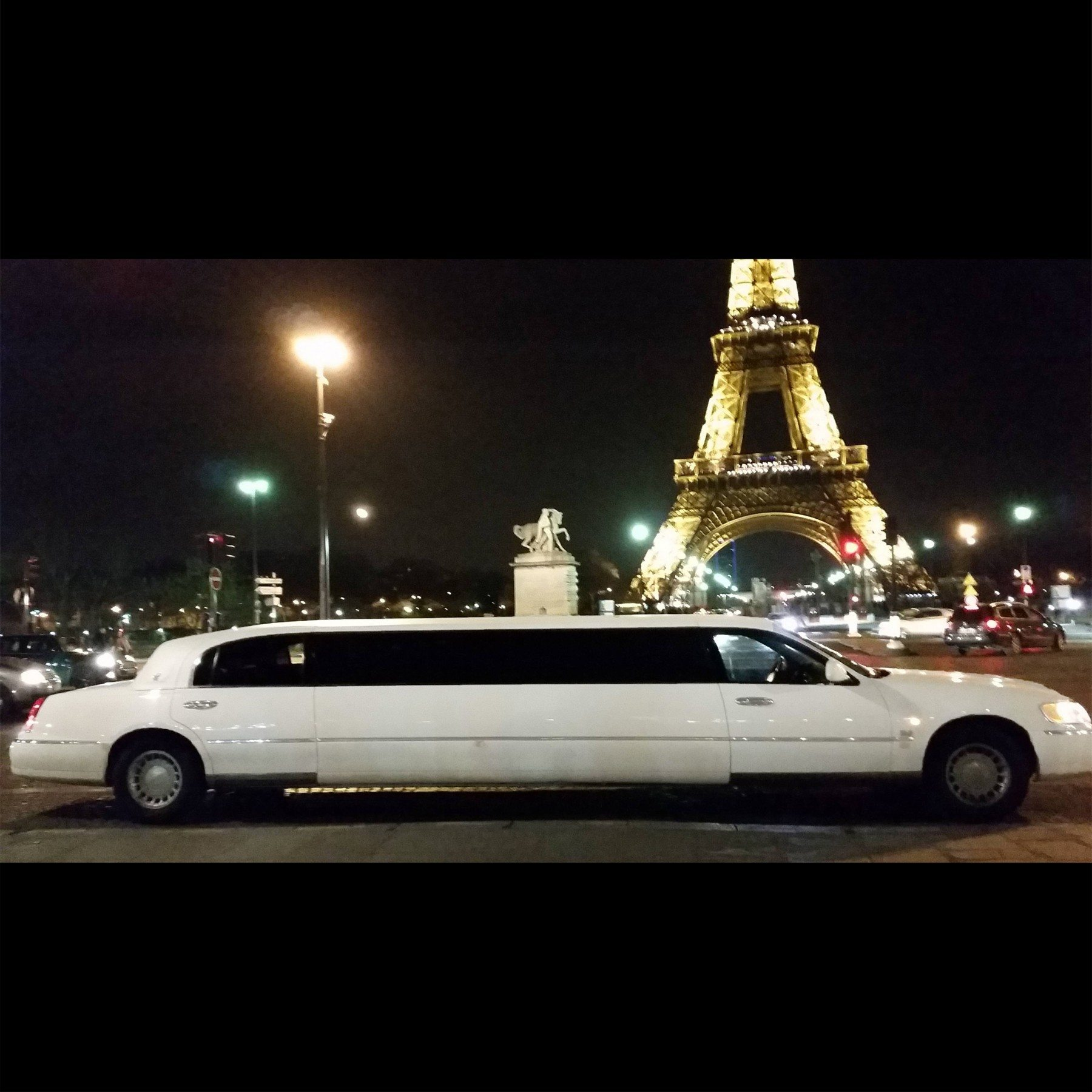 Visite de Paris d'1h30 en Limousine – Le parcours traditionnel