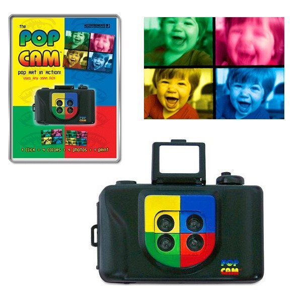 Appareil photo Pop Art