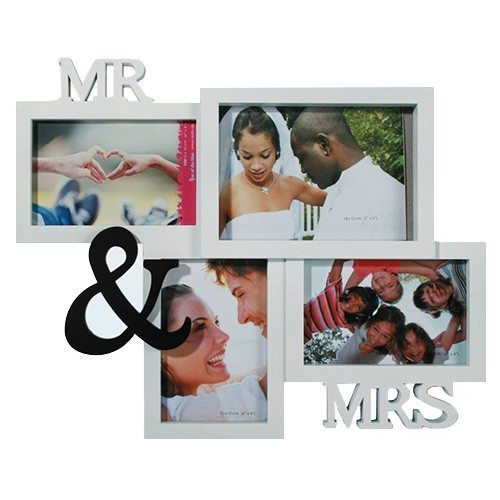 Cadre photo « Mr & Mrs »