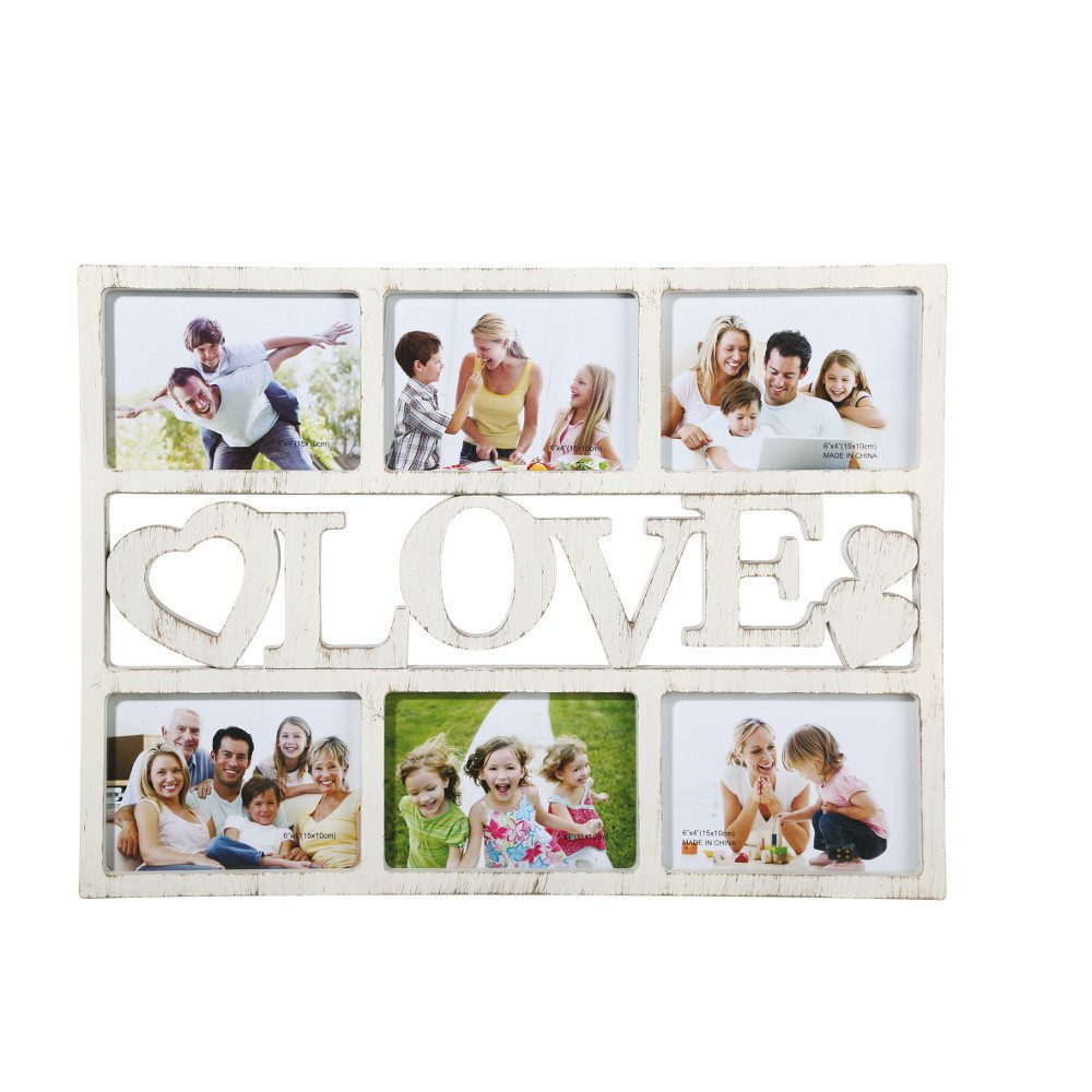 Cadre photo vintage - Love