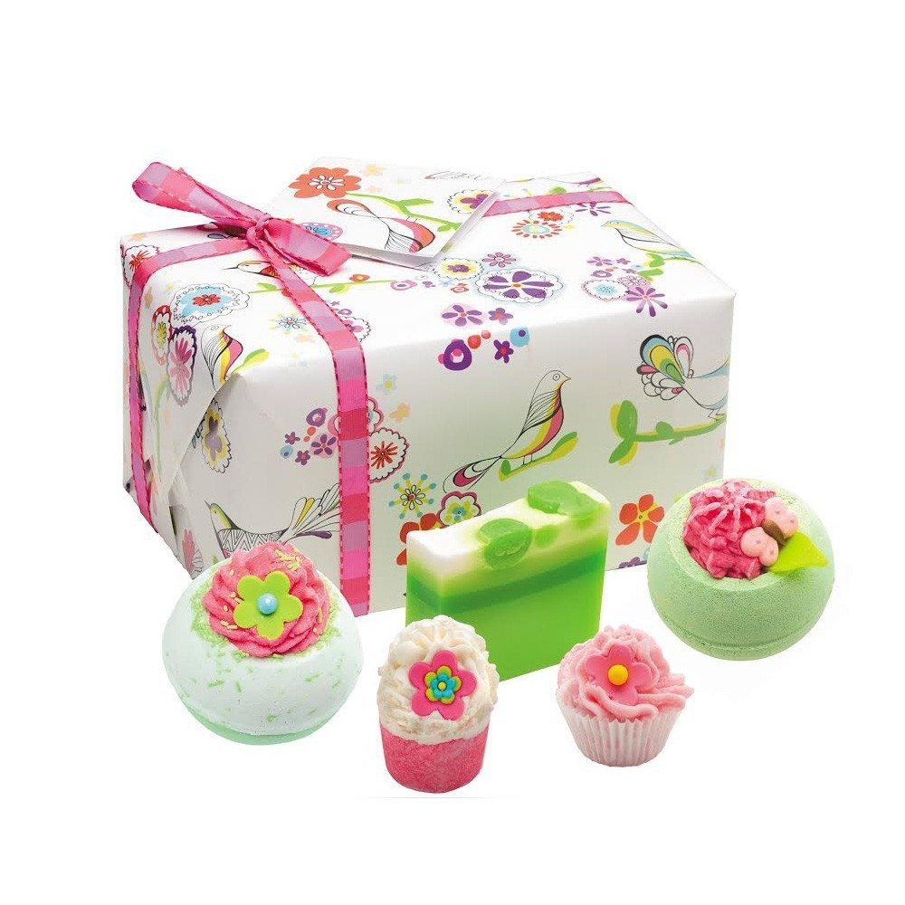 "Coffret de bain ""Air de printemps"""