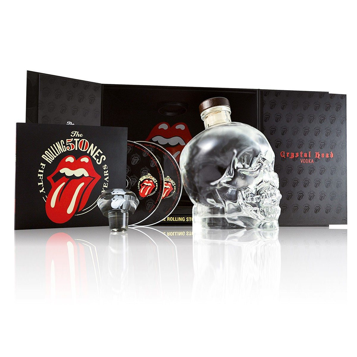 Coffret Rolling Stones – Crystal Head Vodka