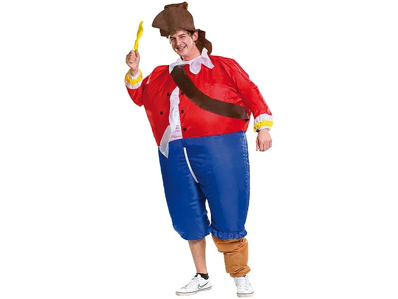 Costume gonflable - pirate