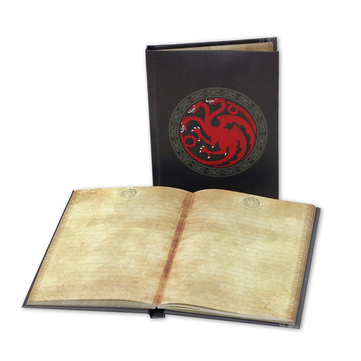 Game of Thrones - Carnet avec armoiries