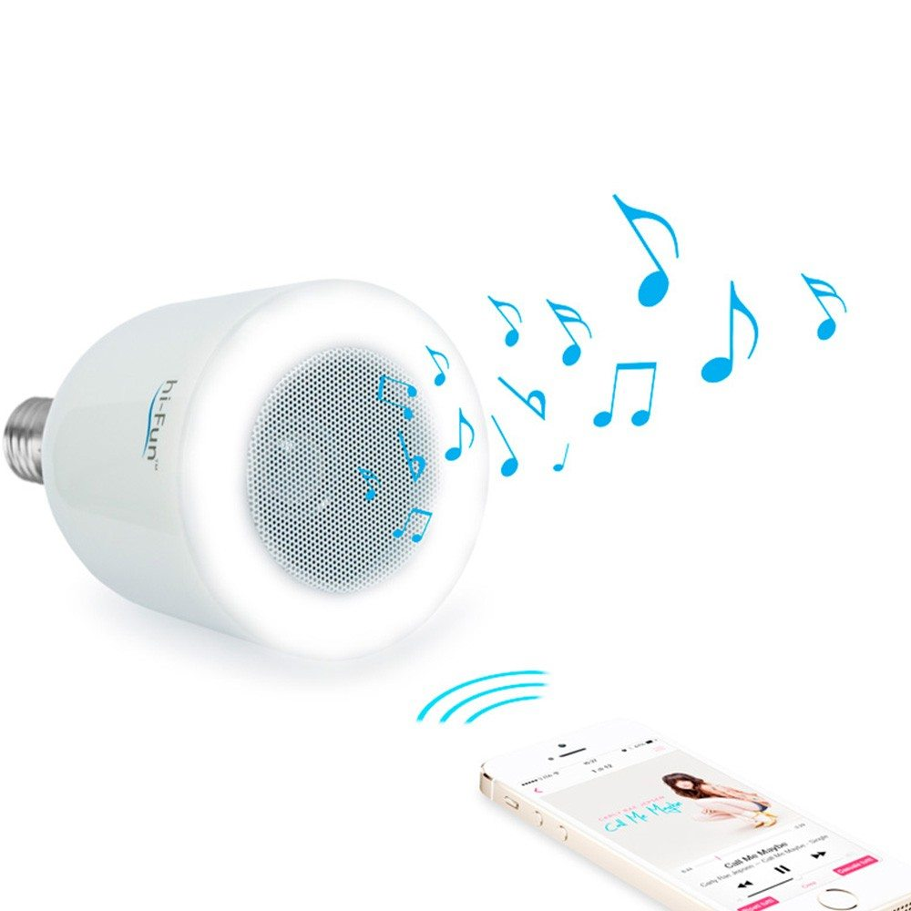 hi-LED - Lampe & haut-parleur Bluetooth
