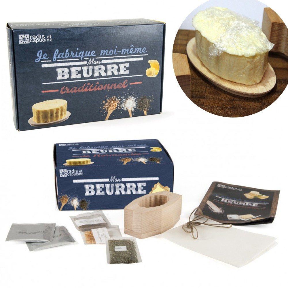 Kit diy faire soi m me son beurre id - Faire son electricite soi meme ...
