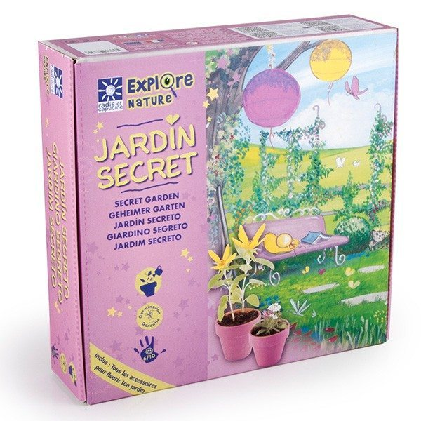 Kit Explore Nature – Jardin secret