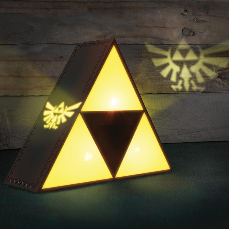Lampe Triforce - Légende de Zelda