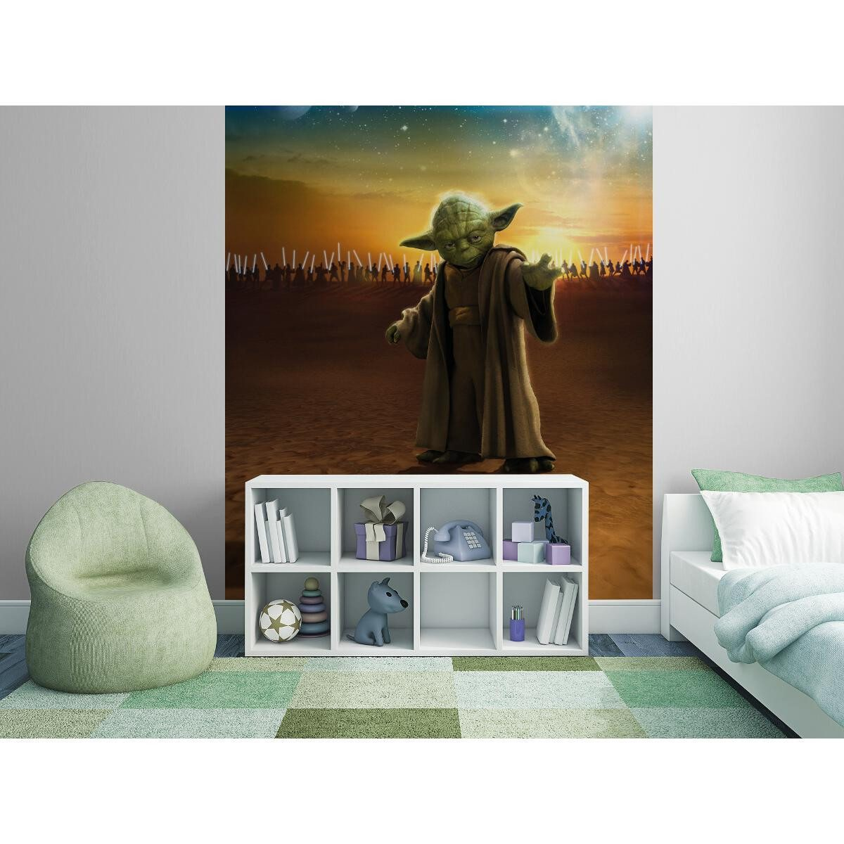 photomur papier peint star wars. Black Bedroom Furniture Sets. Home Design Ideas