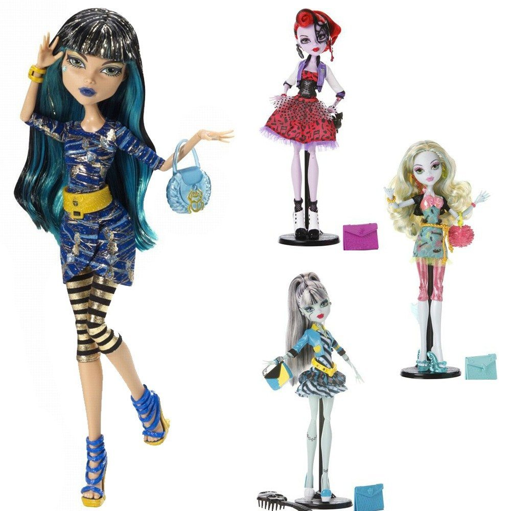 Poup es monster high - Poupee monster high robecca ...