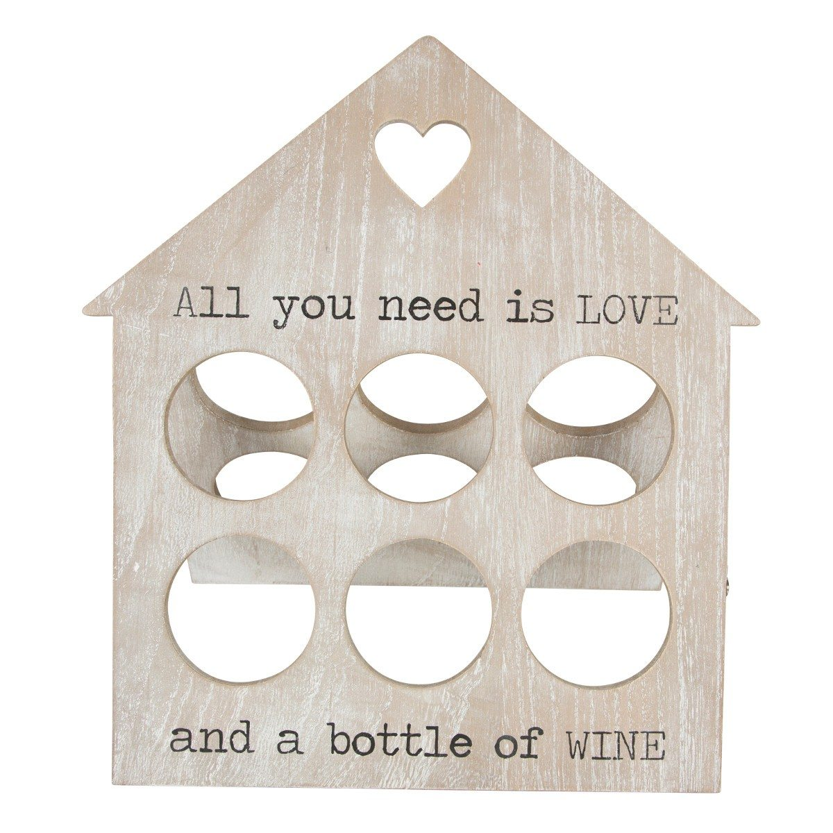 Support de bouteilles - All you need is LOVE